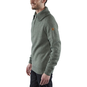 Fjällräven Greenland Re-Wool Trui Heren, thunder grey